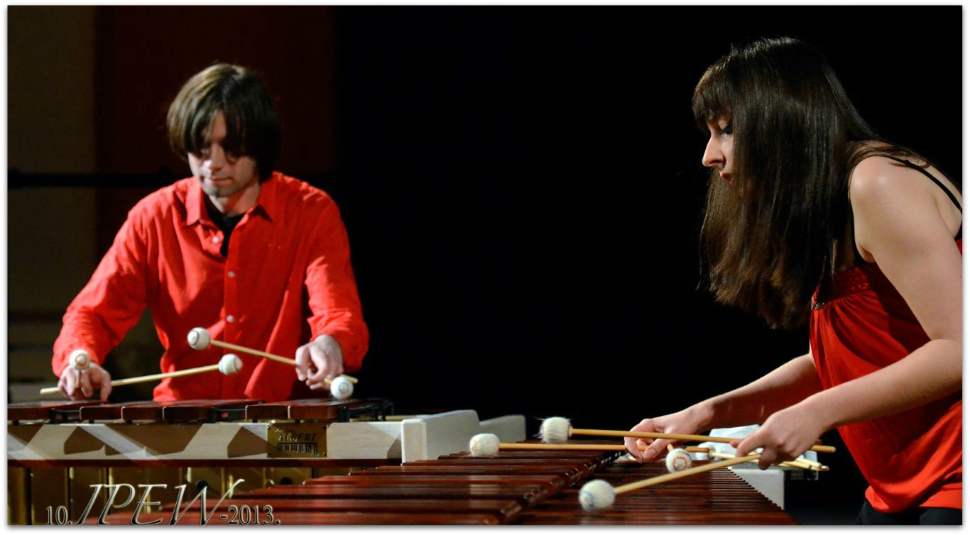 Performing at the International Percussion Ensemble Week Festival in Croatia